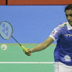 P.V. Sindhu through to the semifinals of the Kumpoo Macau Open 2013