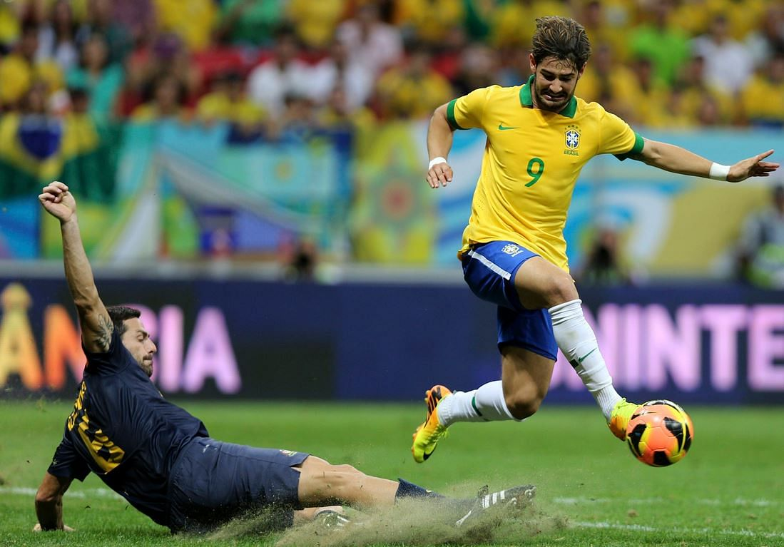 Arsenal and Spurs linked with Brazil striker Alexandre Pato