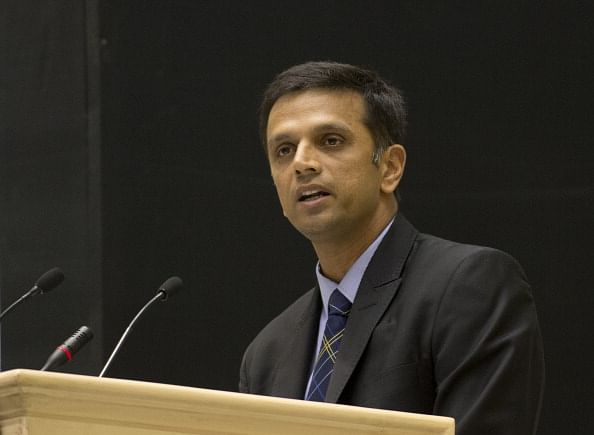 Rahul Dravid bats for legalising betting in sports