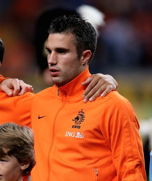 Robin van Persie pulls out of the Dutch squad for friendlies