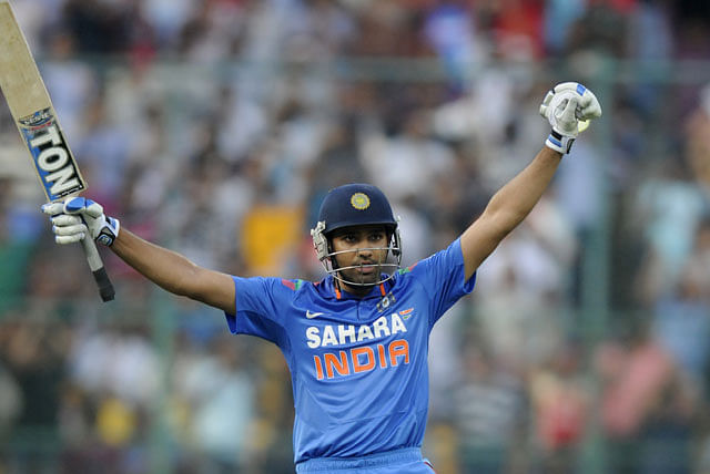 Rohit Sharma eclipses George Bailey to become the highest run scorer in a bilateral ODI series