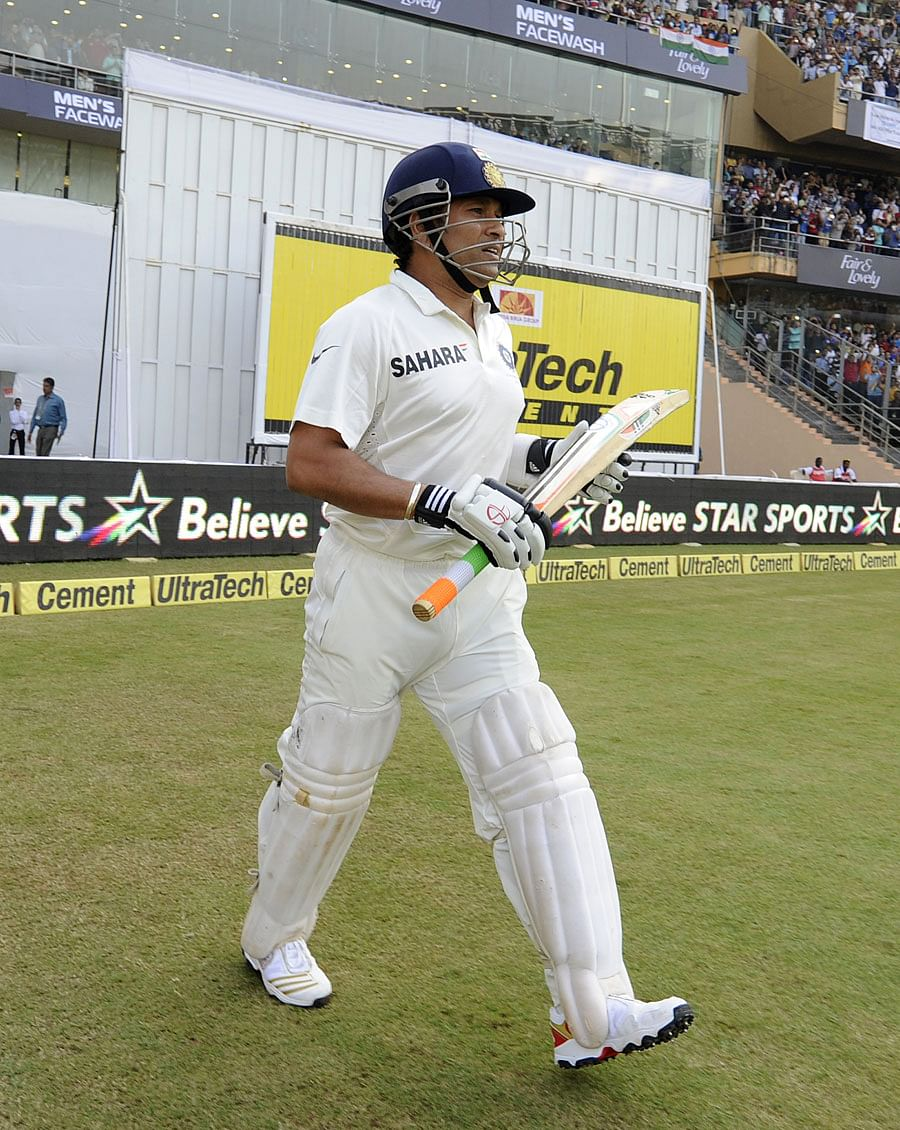 Sachin Tendulkar - How he fared on Day 1 of his last Test match