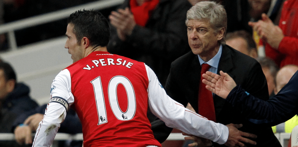 "Arsene Wenger: Robin Van Persie is ""an Arsenal man"" for me"