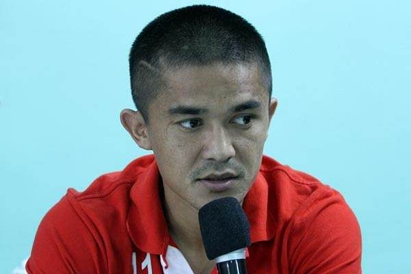 Delighted to become India's record goal scorer on home soil – Sunil Chhetri
