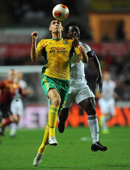 Kuban Krasnodar snatch late goal against Swansea City