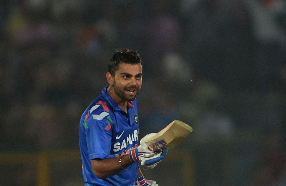 Virat Kohli becomes No. 1 batsman in the latest ICC ODI rankings