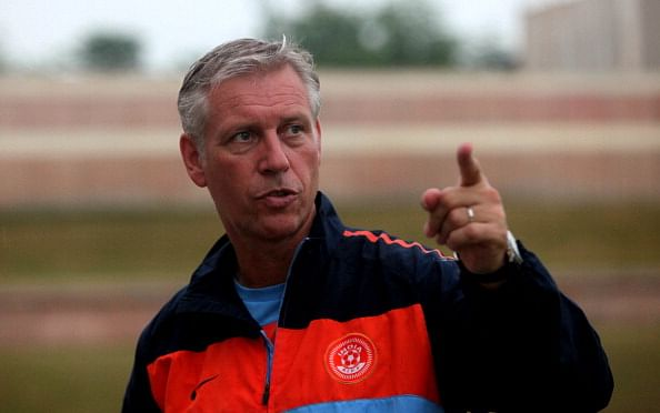 Draw against higher-ranked Philippines is a good result – India coach Wim Koevermans