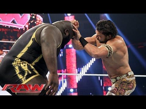Video: Mark Henry vs. Fandango - Monday Night RAW