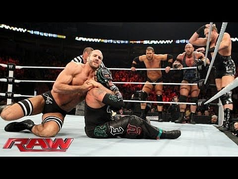 Video: Rey Mysterio, Big Show, Cody Rhodes & Goldust vs. Ryback, Curtis Axel & The Real Americans - Monday Night RAW