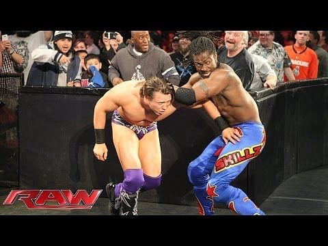 Video: Kofi Kingston vs. The Miz - Monday Night RAW