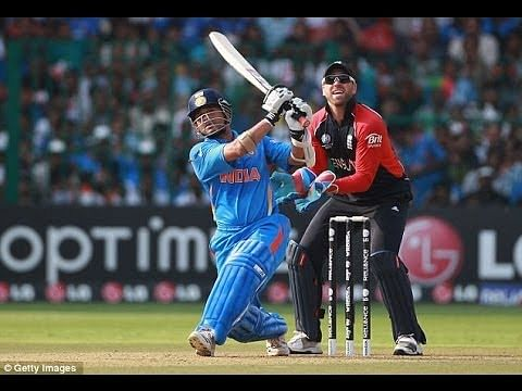 Video: Sachin Tendulkar's biggest six