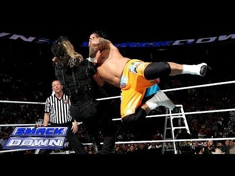 Video: The Usos vs. Seth Rollins & Roman Reigns - WWE SmackDown