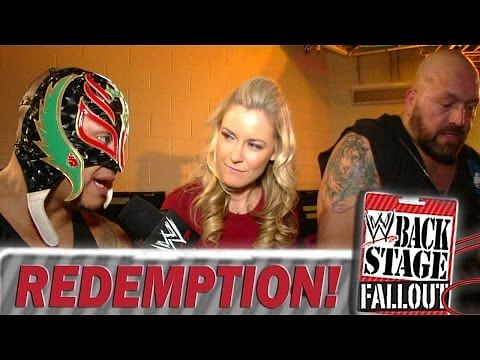 Video: Backstage Fallout - Redemption for Rey Mysterio & Big Show