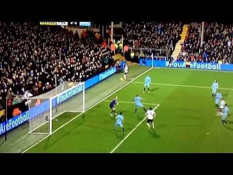 Video: Bizarre own goal by Vincent Kompany against Fulham