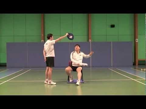 Video: Making badminton smashes powerful