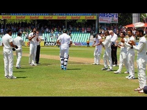 Video: Indian team gives Guard of Honour to Jacques Kallis in his last Test