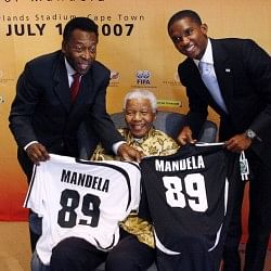 Final Goodbye: Nelson Mandela with 10 sporting legends