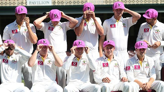 The Ashes 2013-14: Australia to wear 'Baggy Pink' caps in final Ashes Test