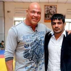 Kurt Angle: Sushil puts India on World wrestling map
