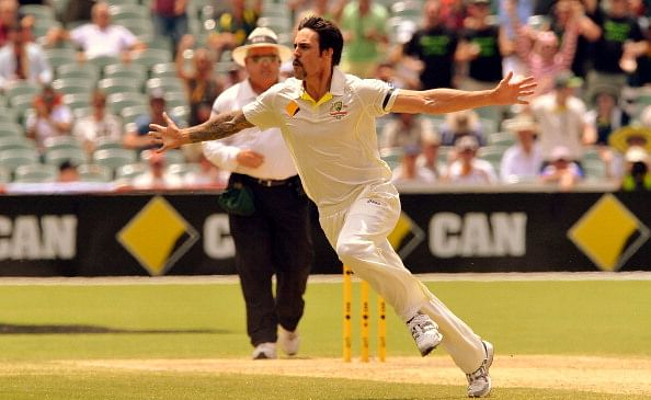 Mitchell Johnson - the 'tashed tormentor