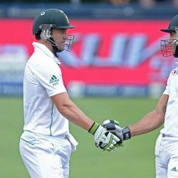 South Africa vs India 2013-14: AB de Villiers and Faf du Plessis play out epic draw
