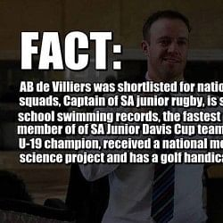 AB de Villiers - An insight into why he is a true legend of modern sport