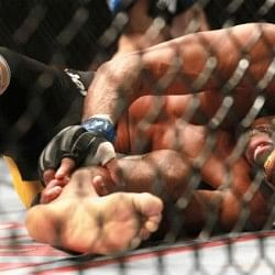 Video: Former UFC champion Anderson Silva suffers horrific leg injury at UFC 168