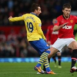 Michael Carrick could return against Hull City