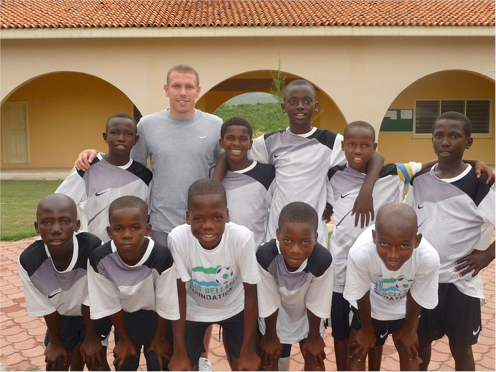 """They're brilliant on the field, and off it too"" - 5 footballers who do charity work"