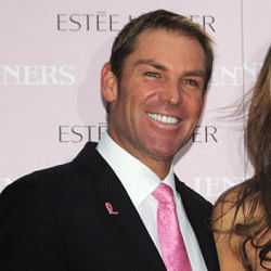 Shane Warne caught in love triangle?