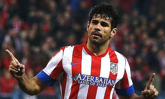 Chelsea open negotiations with Atletico Madrid for the £35 million striker Diego Costa [Express]