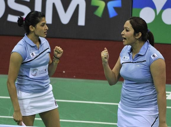 Me and Ashwini are the best: Jwala Gutta