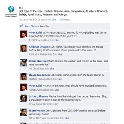 FB Wall: Virat Kohli lashes out at the ICC