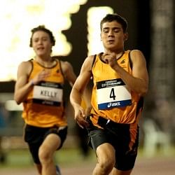 14-year-old Australian runner who ran faster than Usain Bolt