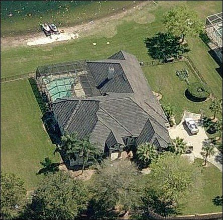 photo: house/residence of desirable conceited arrogant  18 million earning Tampa, Florida, United States-resident