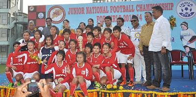 Manipur are Junior National Girls Football champions