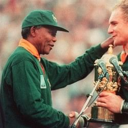 The story of how Nelson Mandela and the Springboks unified South Africa