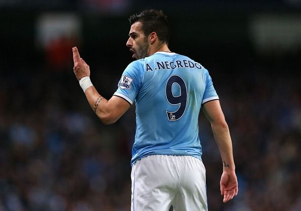 Alvaro Negredo's positioning crucial in Manchester City's midfield linking against Arsenal