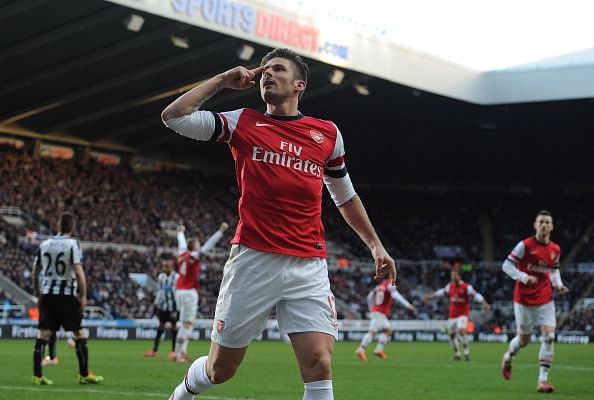 Arsenal scrape to vital win over Newcastle United