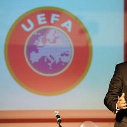 """I would make it like rugby"": UEFA chief Michel Platini wants to change the card rules"