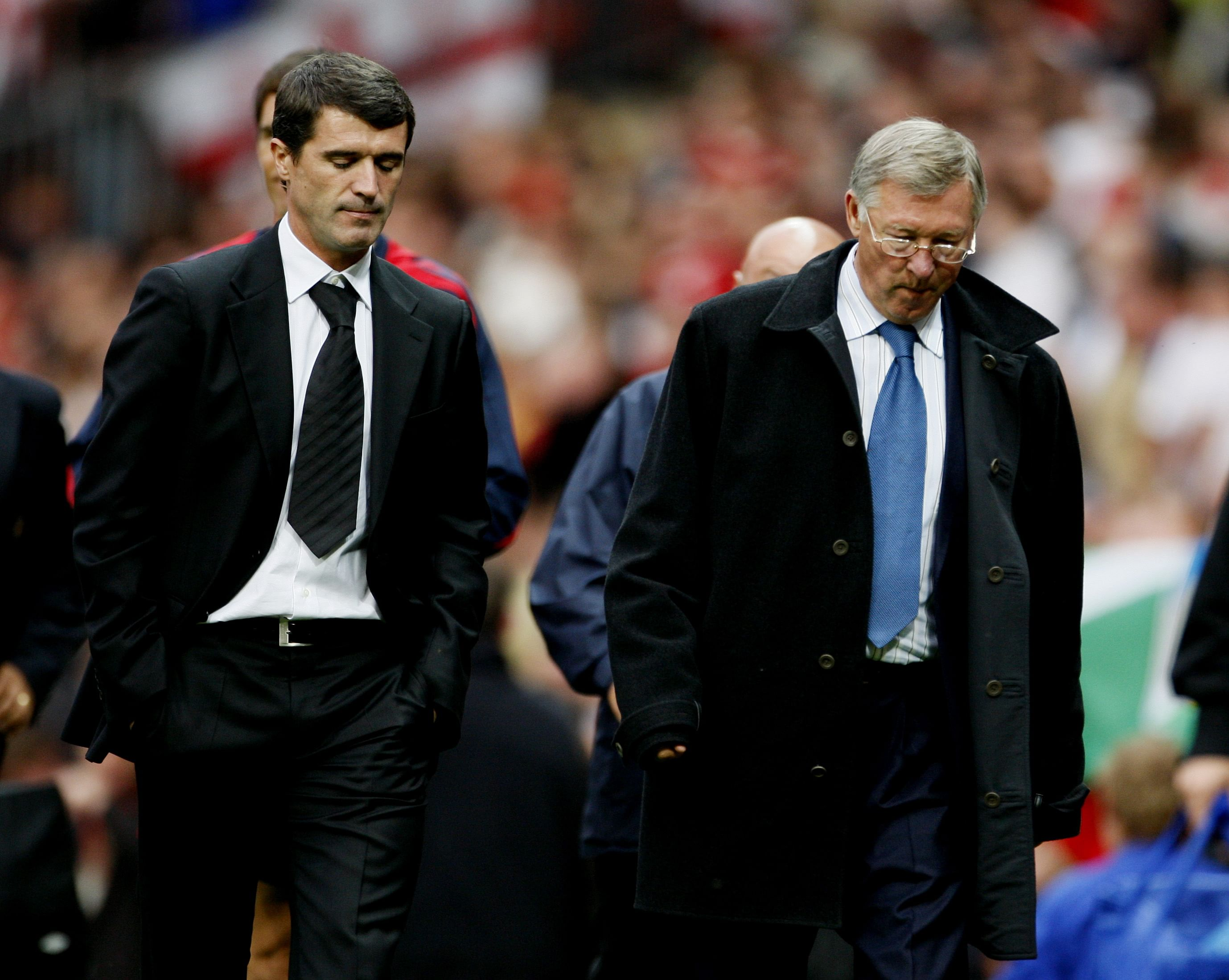 "Sir Alex Ferguson has a ""massive ego"": Roy Keane"