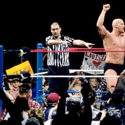 Can anybody break Stone Cold's Royal Rumble record?