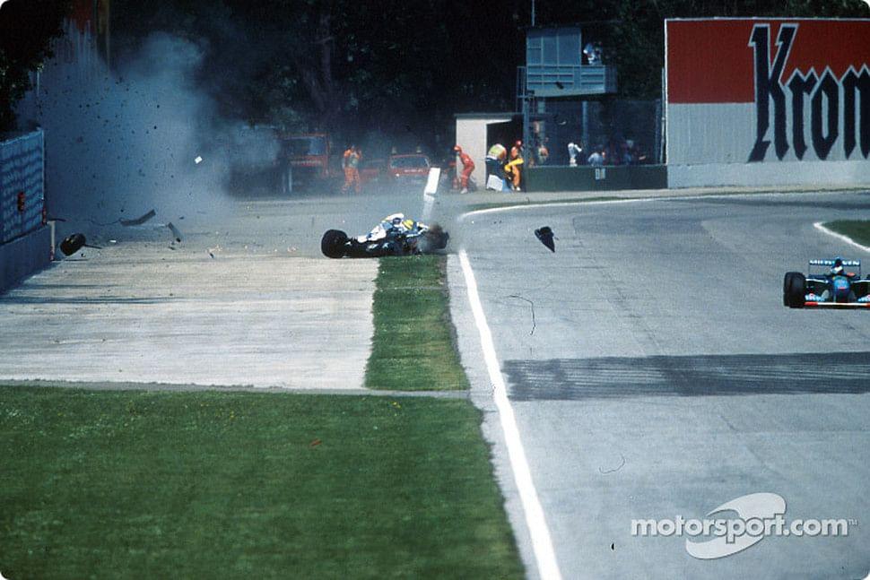 Ayrton Senna Body After Crash Ayrton Senna 39 s Fatal Crash
