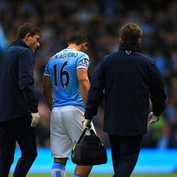 Manchester City talisman Sergio Aguero could be sidelined for upto 2 months