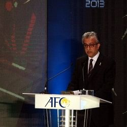 AFC President Shaikh Khalifa: Asian countries will be excellent hosts