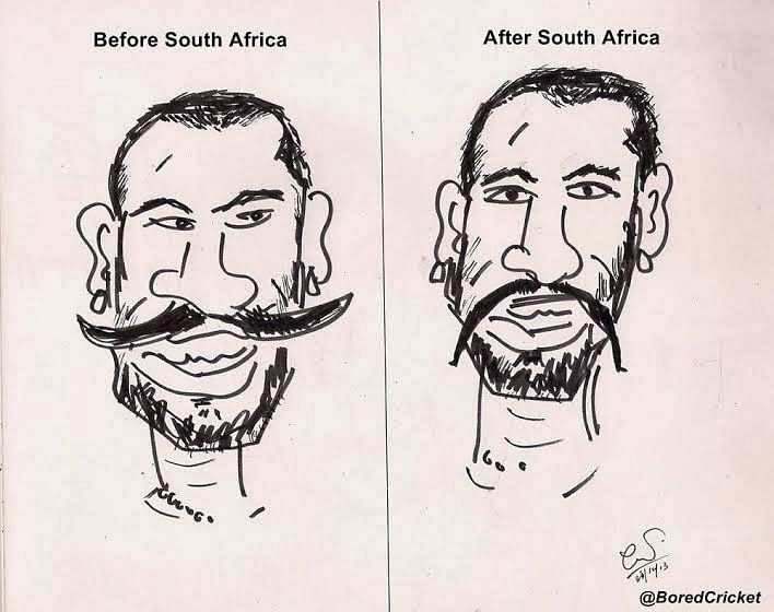 Shikhar Dhawan: Before and after South Africa tour