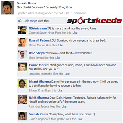 Fake FB Wall: Suresh Raina trolled even before the South Africa tour