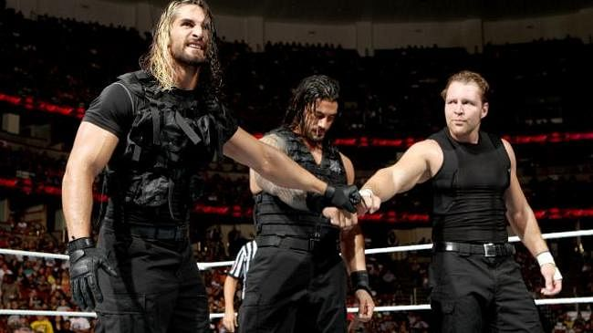 wwe names the shield as rookies of the year. Black Bedroom Furniture Sets. Home Design Ideas