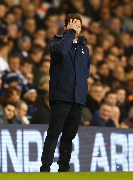 AVB does an RVP on Twitter after Tottenham boss is sacked