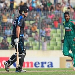 Bangladeshi pacer Al-Amin Hossain takes world record 5 wickets in an over